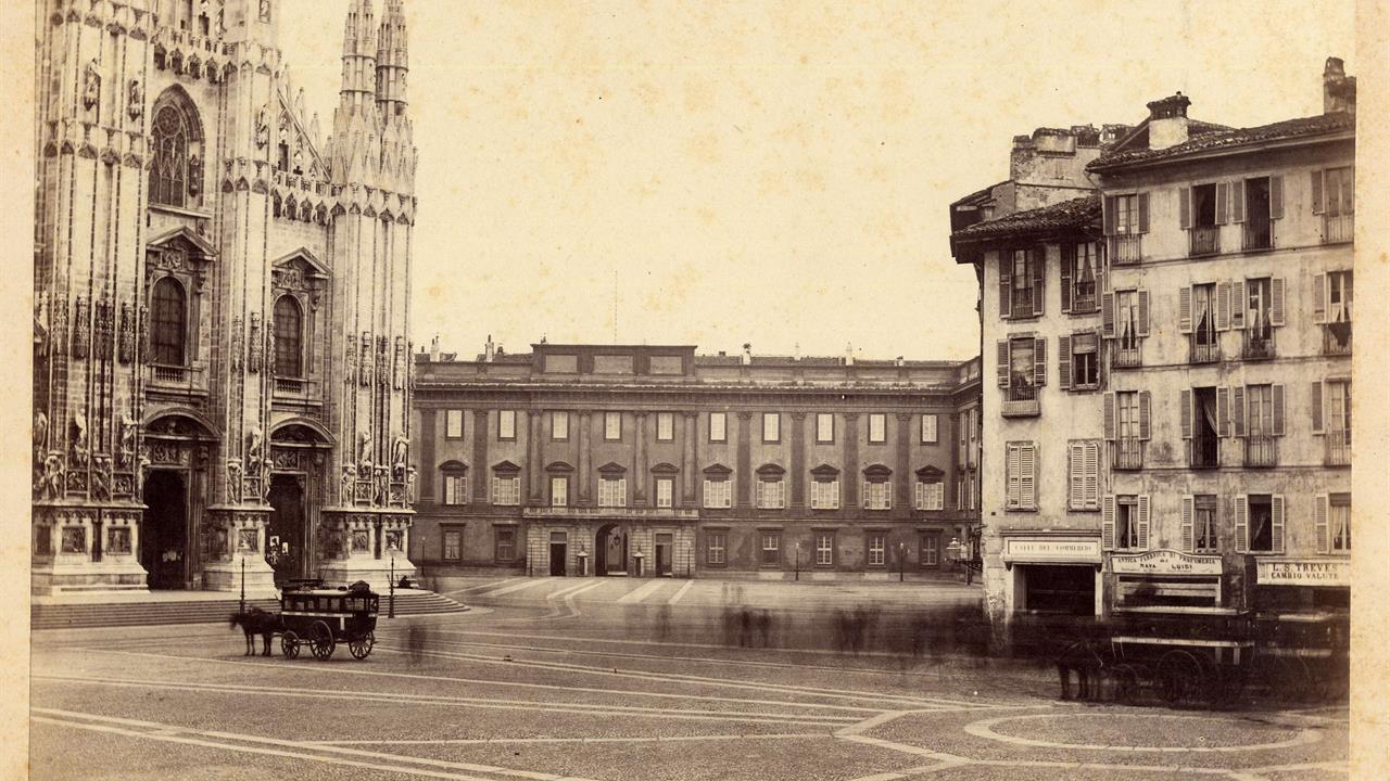 Archivio Della Veneranda Fabbrica Franz Heyland, Il Duomo E Il Rebecchino, 1860 Circa