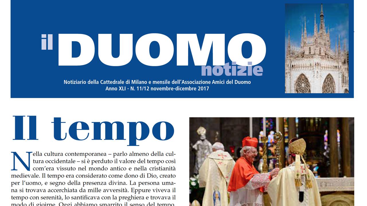 Duomo Notizie Novembre Dicembre 2017