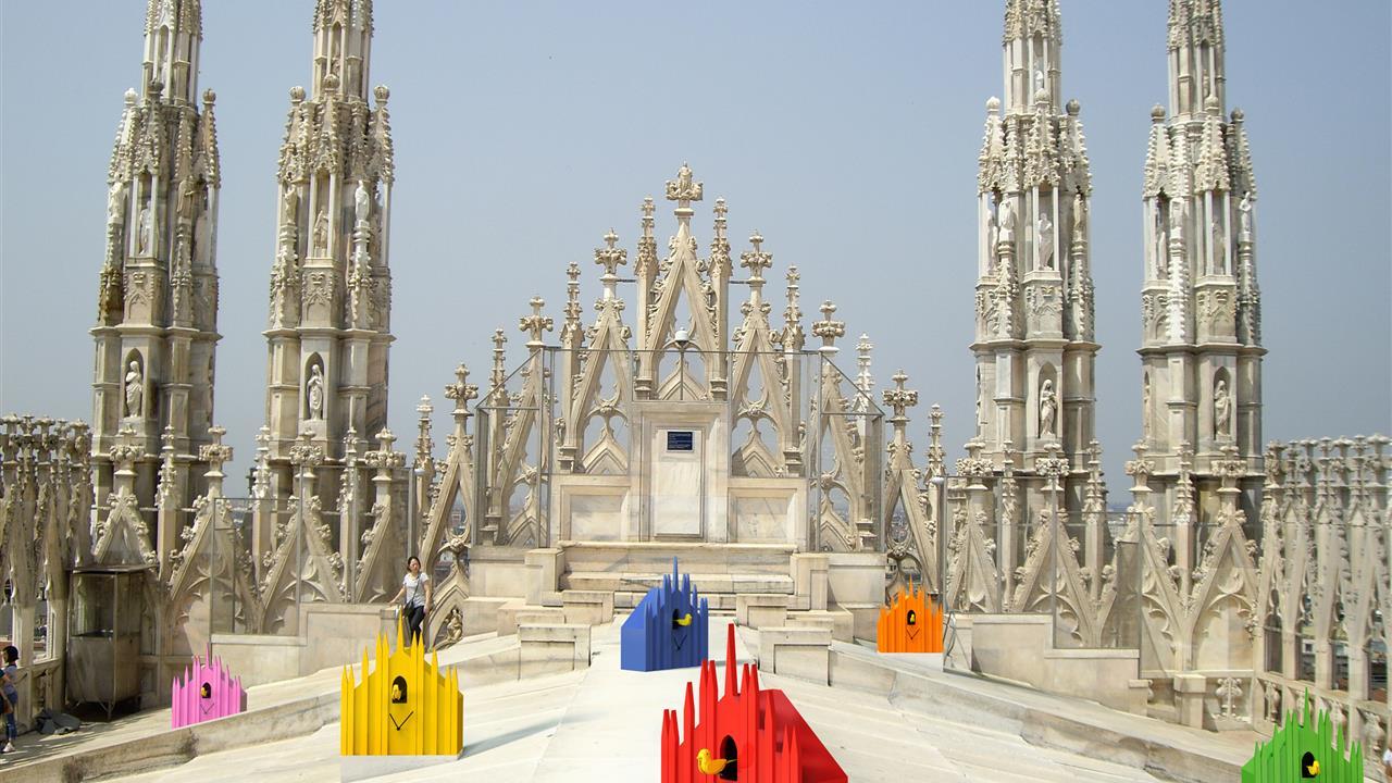 Mostra Cucù Duomo L'orologio Di Milano By Luca Trazzi Terrazze Del Duomo MDW 2014