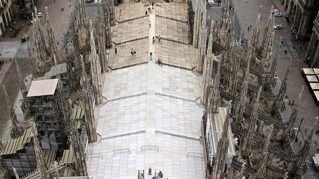 Riapertura dell\'Ascensore Sud - Duomo di Milano
