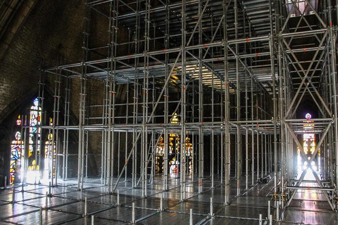 Interno del tiburio del Duomo di Milano