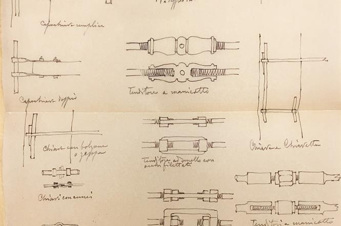 Disegno Zacchi Stanzino Ferrari Cart