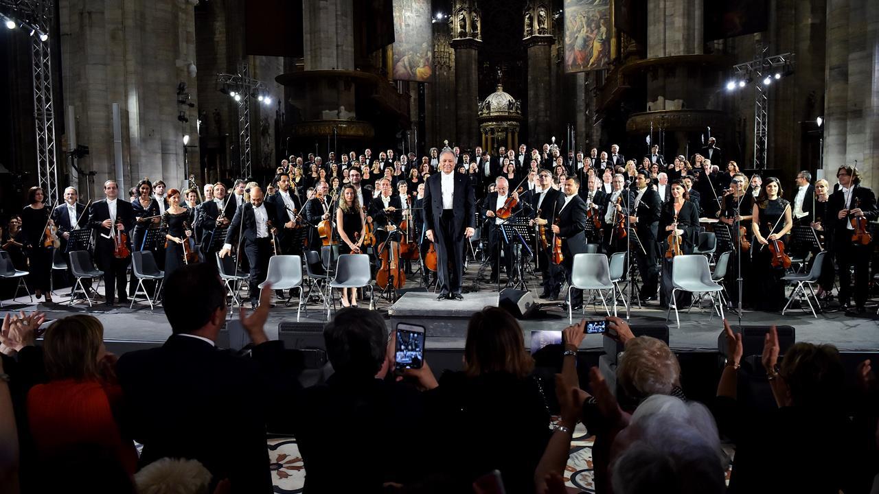 Zubin Mehta 630 anni della Veneranda Fabbrica: la Nona di Beethoven in Duomo