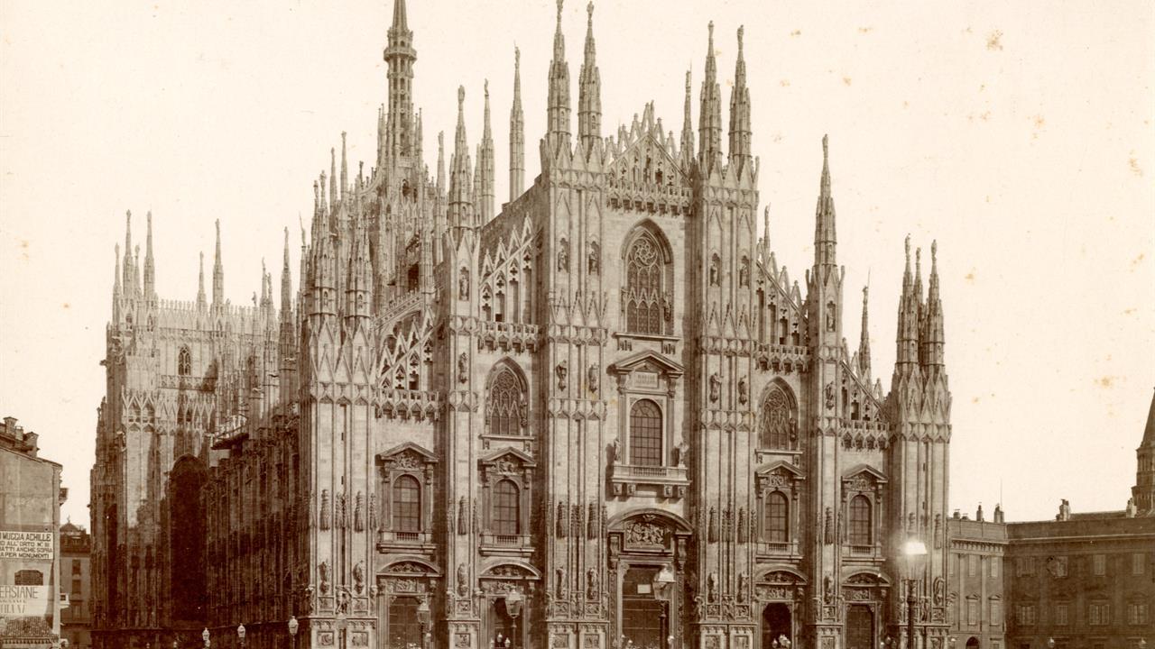 Facciata Duomo Cartelle Ex Archivio Disegni