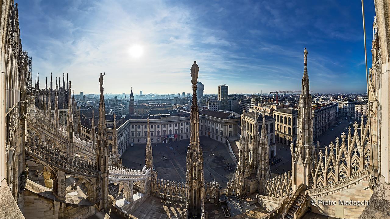 Terrazze - Duomo di Milano