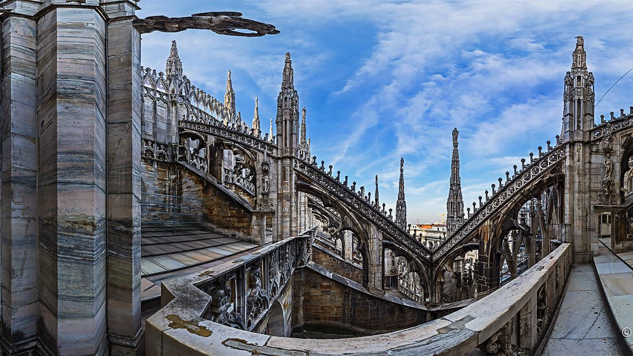 Duomo Di Milano 360 Milan Explore With This Panoramic Virtual Tour The Terraces Of Cathedral